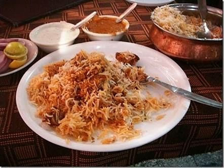 Lip-smacking Hyderabadi Biryani