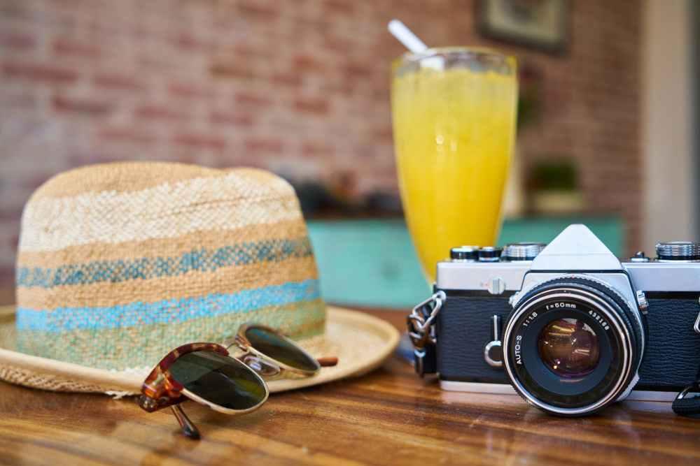 cafe camera classic close up