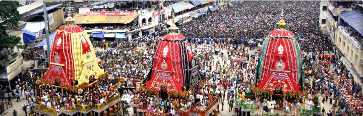 A Pious Festival in the Heavenly Abode of Lord Jagannath